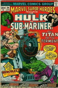 Cover Thumbnail for Marvel Super-Heroes (Marvel, 1967 series) #34