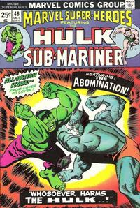 Cover for Marvel Super-Heroes (1967 series) #46