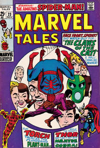Cover Thumbnail for Marvel Tales (Marvel, 1966 series) #23