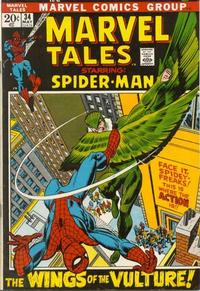 Cover Thumbnail for Marvel Tales (Marvel, 1966 series) #34