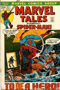 Cover Thumbnail for Marvel Tales (Marvel, 1966 series) #37