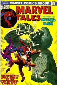 Cover Thumbnail for Marvel Tales (Marvel, 1966 series) #55