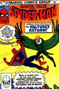 Cover Thumbnail for Marvel Tales (Marvel, 1966 series) #144