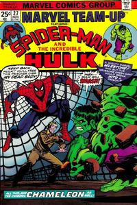 Cover Thumbnail for Marvel Team-Up (Marvel, 1972 series) #27