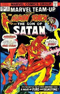 Cover for Marvel Team-Up (Marvel, 1972 series) #32