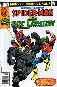 Cover Thumbnail for Marvel Team-Up (Marvel, 1972 series) #102