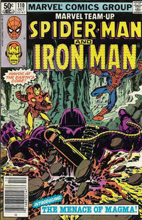Cover Thumbnail for Marvel Team-Up (Marvel, 1972 series) #110 [Newsstand]