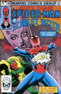 Cover for Marvel Team-Up (1972 series) #130 [Newsstand]