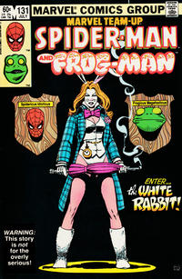 Cover Thumbnail for Marvel Team-Up (Marvel, 1972 series) #131 [Direct Edition]