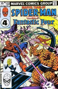 Cover for Marvel Team-Up (Marvel, 1972 series) #133