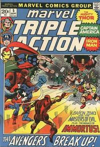 Cover Thumbnail for Marvel Triple Action (Marvel, 1972 series) #5