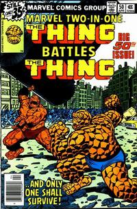 Cover Thumbnail for Marvel Two-In-One (Marvel, 1974 series) #50