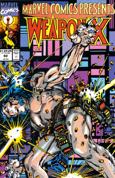 Cover for Marvel Comics Presents (Marvel, 1988 series) #82