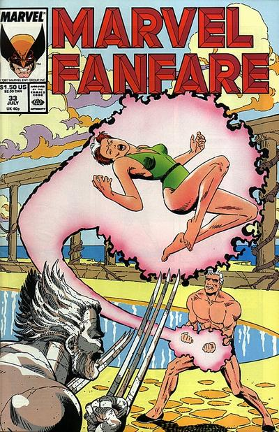 Cover for Marvel Fanfare (Marvel, 1982 series) #33