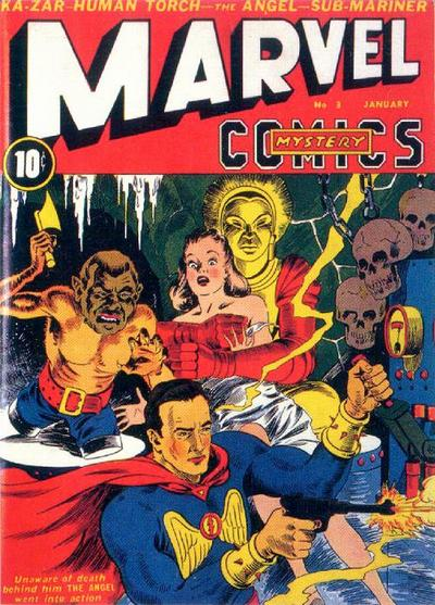 Cover for Marvel Mystery Comics (Marvel, 1939 series) #3