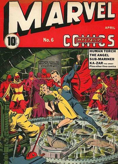 Cover for Marvel Mystery Comics (1939 series) #6