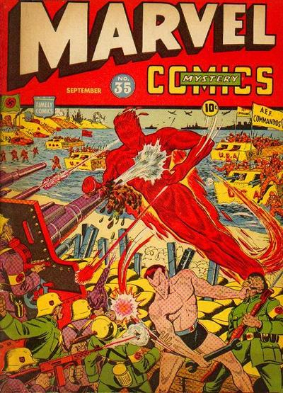 Cover for Marvel Mystery Comics (1939 series) #35