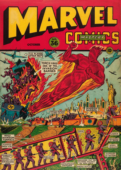 Cover for Marvel Mystery Comics (Marvel, 1939 series) #36