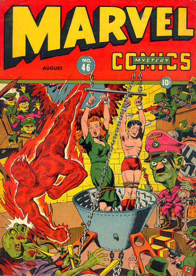 Cover for Marvel Mystery Comics (Marvel, 1939 series) #46