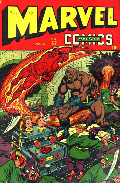 Cover for Marvel Mystery Comics (Marvel, 1939 series) #62