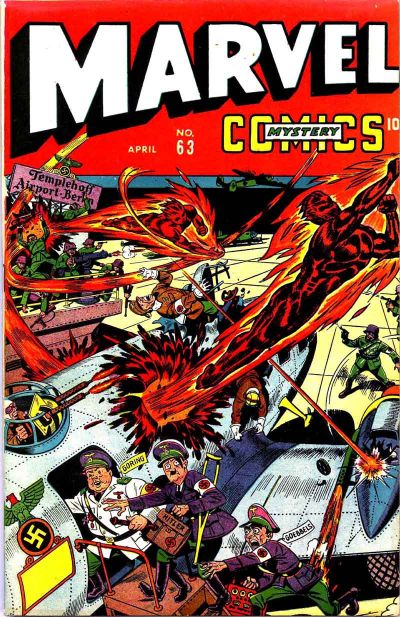 Cover for Marvel Mystery Comics (Marvel, 1939 series) #63