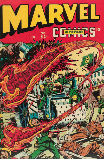Cover for Marvel Mystery Comics (1939 series) #64