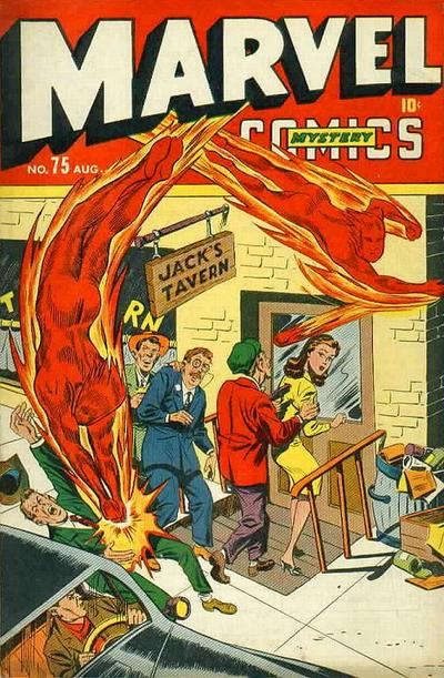 Cover for Marvel Mystery Comics (Marvel, 1939 series) #75