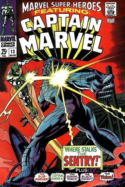 Cover for Marvel Super-Heroes (Marvel, 1967 series) #13