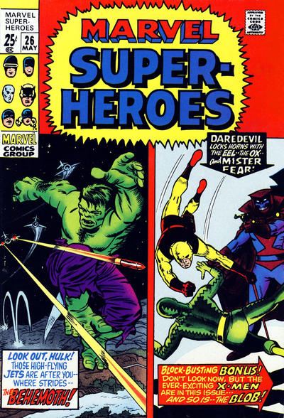Cover for Marvel Super-Heroes (Marvel, 1967 series) #26