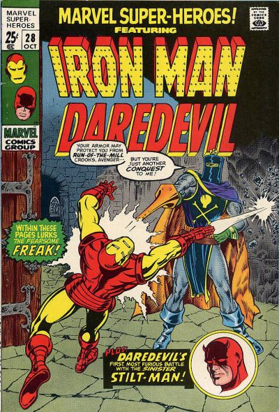 Cover for Marvel Super-Heroes (Marvel, 1967 series) #28