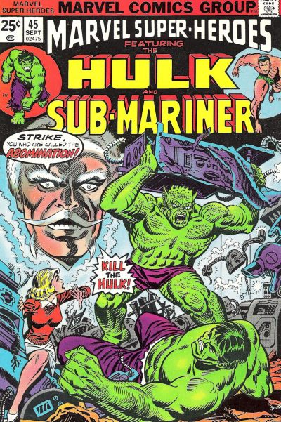 Cover for Marvel Super-Heroes (Marvel, 1967 series) #45