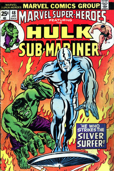 Cover for Marvel Super-Heroes (Marvel, 1967 series) #48