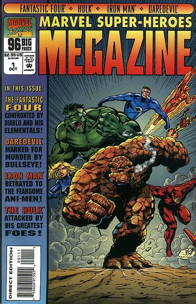 Cover for Marvel Super-Heroes Megazine (1994 series) #1