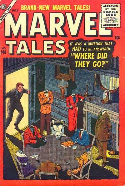 Cover for Marvel Tales (1949 series) #148