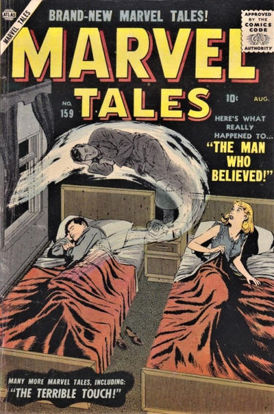 Cover for Marvel Tales (1949 series) #159