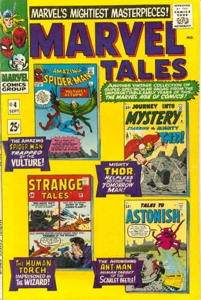 Cover for Marvel Tales (Marvel, 1966 series) #4