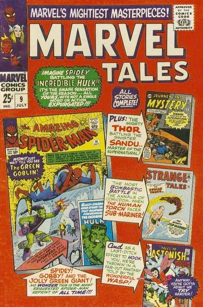 Cover for Marvel Tales (Marvel, 1966 series) #9