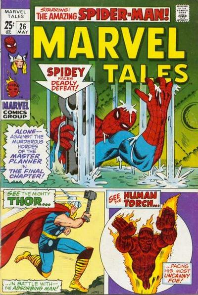 Cover for Marvel Tales (Marvel, 1966 series) #26