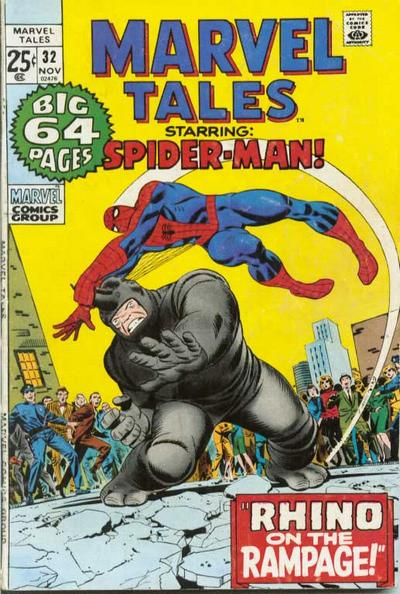 Cover for Marvel Tales (1966 series) #32
