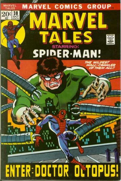 Cover for Marvel Tales (1966 series) #38