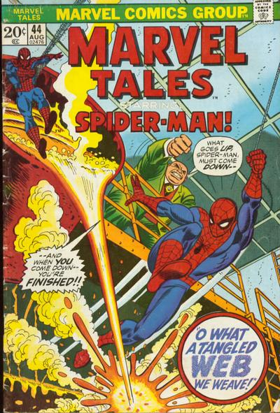 Cover for Marvel Tales (Marvel, 1966 series) #44