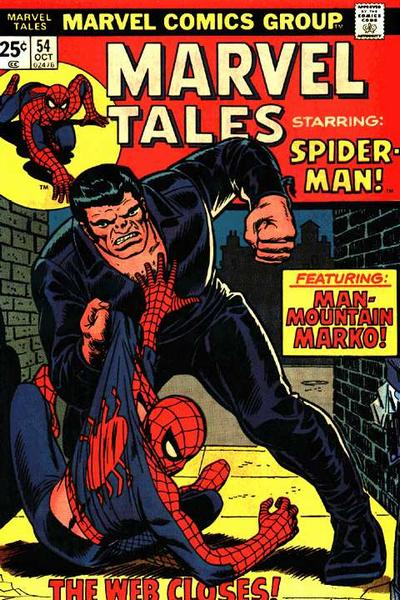 Cover for Marvel Tales (Marvel, 1966 series) #54