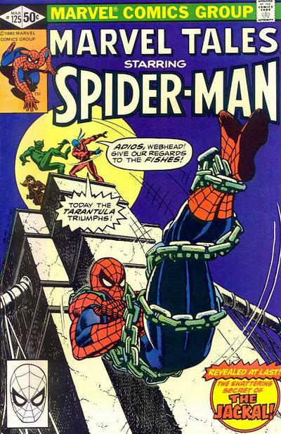 Cover for Marvel Tales (Marvel, 1966 series) #125 [Direct]