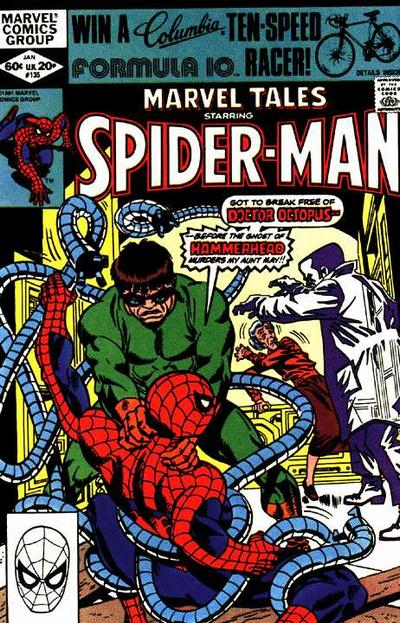 Cover for Marvel Tales (Marvel, 1966 series) #135