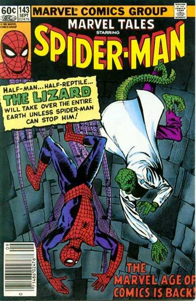 Cover for Marvel Tales (Marvel, 1966 series) #143