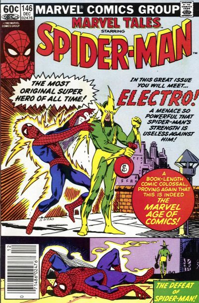 Cover for Marvel Tales (1966 series) #146
