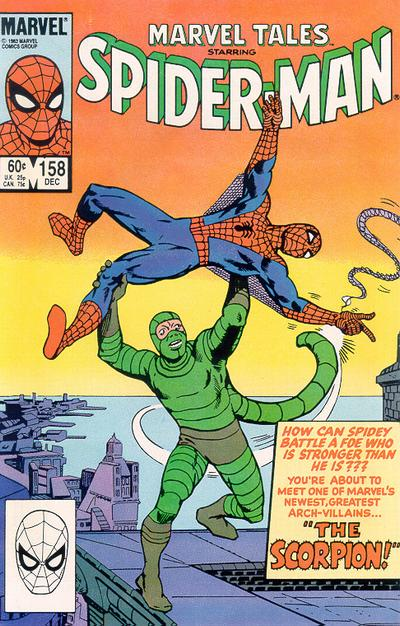 Cover for Marvel Tales (Marvel, 1966 series) #158 [Newsstand Edition]