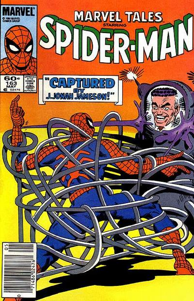 Cover for Marvel Tales (Marvel, 1966 series) #163