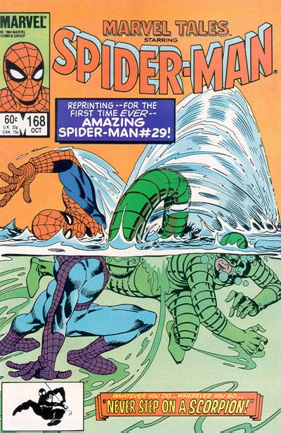 Cover for Marvel Tales (Marvel, 1966 series) #168