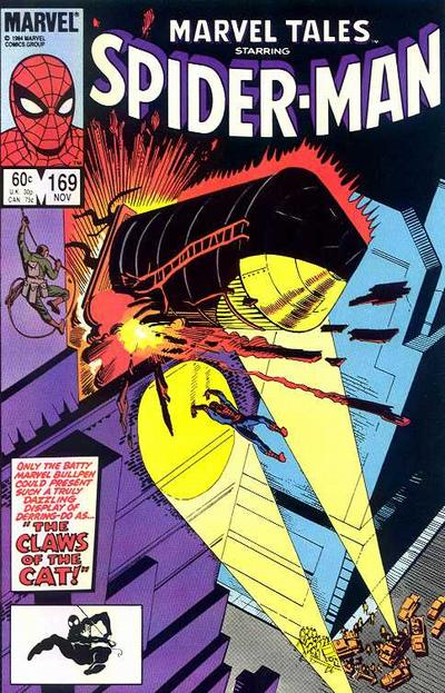 Cover for Marvel Tales (Marvel, 1966 series) #169